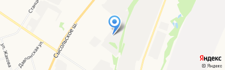 Стройдвор Полатово на карте Сыктывкара