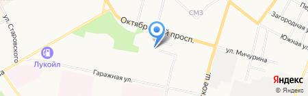 ТНТ-Сыктывкар на карте Сыктывкара