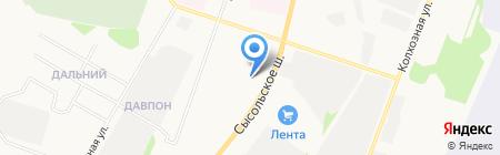 Сыктывкарский учебный центр ФПС на карте Сыктывкара