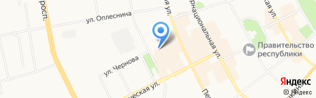 Трикотаж для всей семьи на карте Сыктывкара