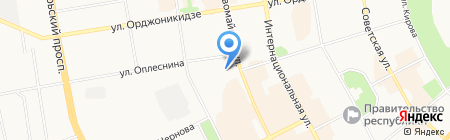 Государственный академический театр драмы им. В. Савина на карте Сыктывкара