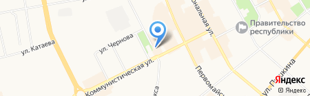 Инь-Янь на карте Сыктывкара