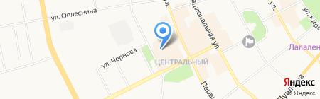 МФ Состояние на карте Сыктывкара