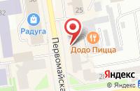 Схема проезда до компании Торговая компания в Нижних Вязовых