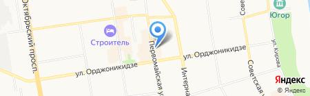 Пещера на карте Сыктывкара