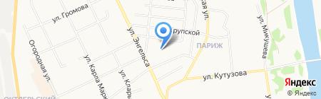 Главное бюро медико-социальной экспертизы по Республике Коми на карте Сыктывкара