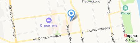 Строительный мир на карте Сыктывкара