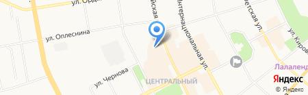 ОБСТРА на карте Сыктывкара