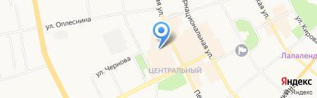 Круиз на карте Сыктывкара