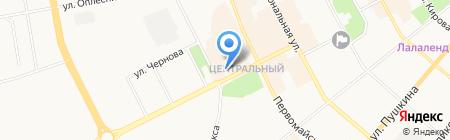 Mari на карте Сыктывкара