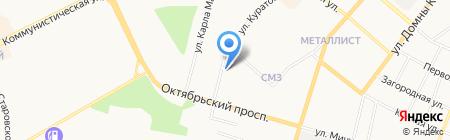 Отдел службы судебных приставов по г. Сыктывкару на карте Сыктывкара
