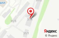 Схема проезда до компании Комистройбизнес в Сыктывкаре