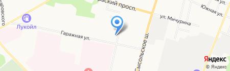 Управление Федеральной службы судебных приставов по Республике Коми на карте Сыктывкара