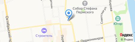 Уголовно-исполнительная инспекция на карте Сыктывкара