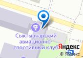 Региональное отделение ДОСААФ России в Республике Коми на карте