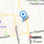 Межрегиональное бюро кадастровых работ на карте Сыктывкара