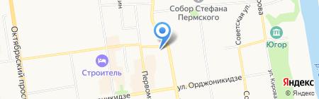 Газпром газораспределение Сыктывкар на карте Сыктывкара