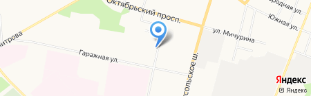 Огонек на карте Сыктывкара
