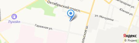 АВТОРЕСУРС СЕРВИС на карте Сыктывкара