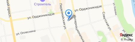 Детский сад №47 на карте Сыктывкара