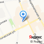 Дом быта на карте Сыктывкара