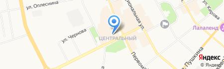 Pro Slide на карте Сыктывкара