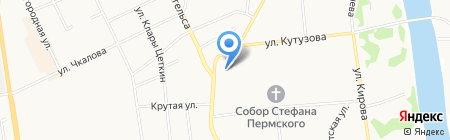 Детский сад №17 на карте Сыктывкара