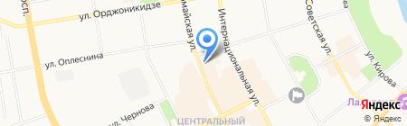 ЕЛЕНА на карте Сыктывкара