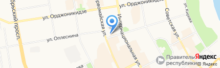 Столовая-пельменная №2 на карте Сыктывкара
