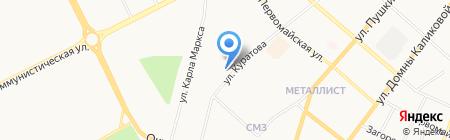 Республиканский врачебно-физкультурный диспансер на карте Сыктывкара
