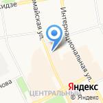 Наутилус Джинс на карте Сыктывкара