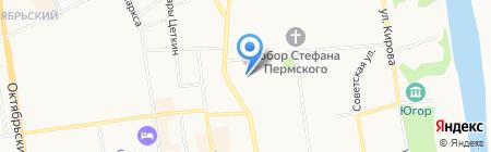 IQ на карте Сыктывкара