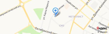 Дента на карте Сыктывкара