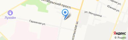Стройэлектроуслуга на карте Сыктывкара