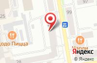 Схема проезда до компании Авва в Сыктывкаре