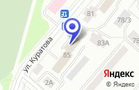 Схема проезда до компании ПТК ФАСАД в Сыктывкаре