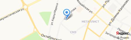 Maxi на карте Сыктывкара