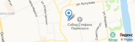 Лимузин-Сервис на карте Сыктывкара