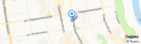 Торгово-промышленная палата Республики Коми на карте Сыктывкара