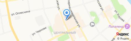Управление Федеральной налоговой службы России по Республике Коми на карте Сыктывкара