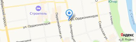 Служба обеспечения деятельности уполномоченных по правам человека на карте Сыктывкара