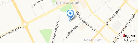 ДЮСШ по футболу на карте Сыктывкара