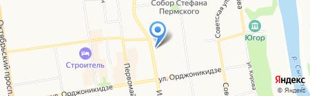 Специальная (коррекционная) общеобразовательная школа №40 VIII вида для обучающихся на карте Сыктывкара