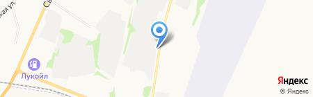 Подкова на карте Сыктывкара