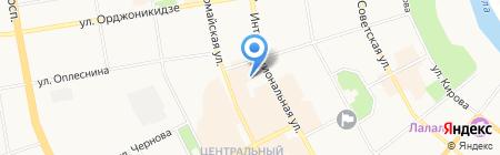 КонсультантПлюсКоми на карте Сыктывкара