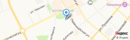 Максимум на карте Сыктывкара