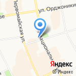 ИнтерМед на карте Сыктывкара