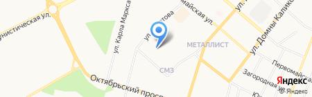 Западная 7 на карте Сыктывкара