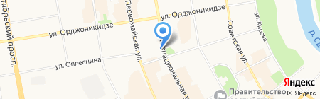 Планета Малышей на карте Сыктывкара