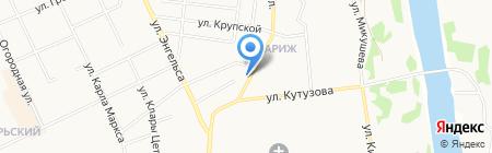 Семейная на карте Сыктывкара